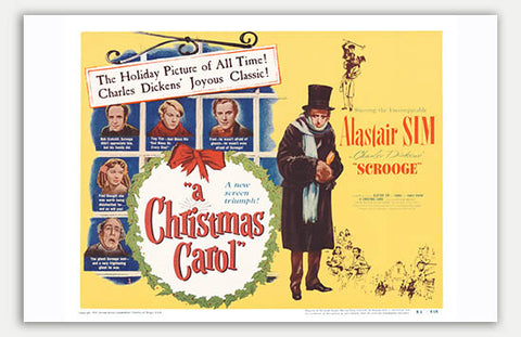 "Christmas Carol - 17"" x 11""  Movie Poster"