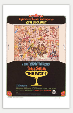 "Party - 11"" x 17""  Movie Poster"