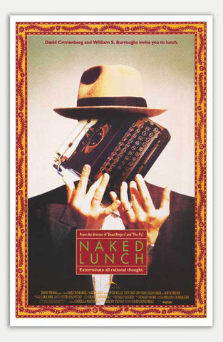 "Naked Lunch - 11"" x 17""  Movie Poster"