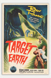 "Target Earth - 11"" x 17""  Movie Poster"