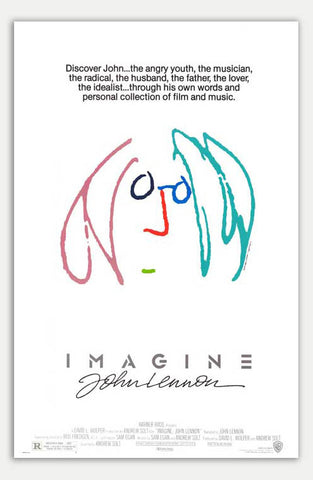 "Imagine - 11"" x 17""  Movie Poster"