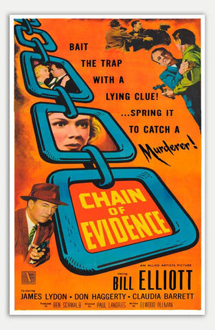 "Chain of Evidence - 11"" x 17""  Movie Poster"