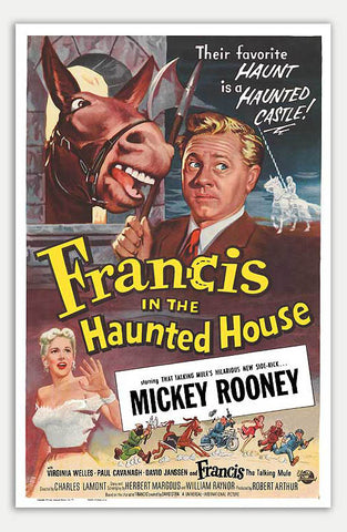 "Francis in the Haunted House - 11"" x 17""  Movie Poster"