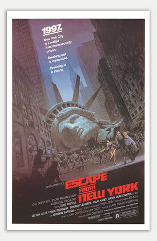 "Escape from New York - 11"" x 17""  Movie Poster"