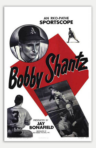 "Bobby Shantz - 11"" x 17""  Movie Poster"