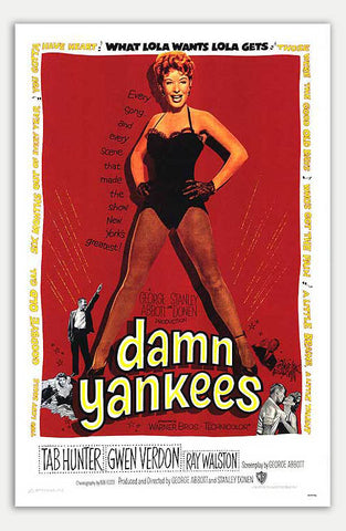 "Damn Yankees - 11"" x 17""  Movie Poster"