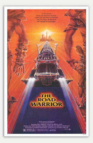 "Mad Max 2: The Road Warrior - 11"" x 17""  Movie Poster"
