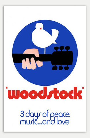 "Woodstock - 11"" x 17""  Movie Poster"