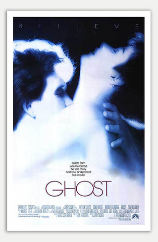 "Ghost - 11"" x 17""  Movie Poster"