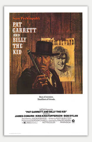 "Pat Garrett and Billy the Kid - 11"" x 17""  Movie Poster"