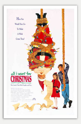 "All I want for Christmas - 11"" x 17""  Movie Poster"