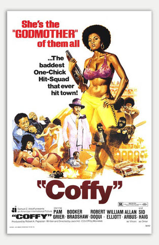 "Coffy - 11"" x 17""  Movie Poster"