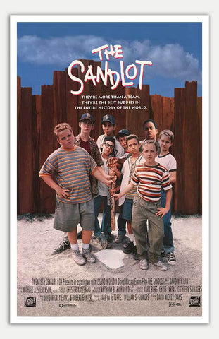 "Sandlot - 11"" x 17""  Movie Poster"