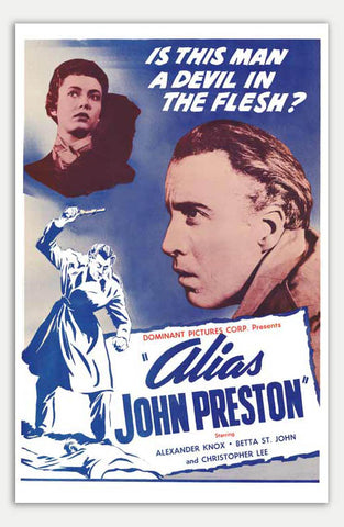 "Alias John Preston - 11"" x 17""  Movie Poster"