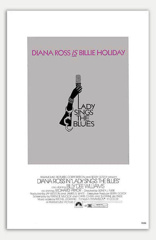 "Lady sings the Blues - 11"" x 17""  Movie Poster"