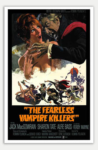 "Fearless Vampire Killers - 11"" x 17""  Movie Poster"