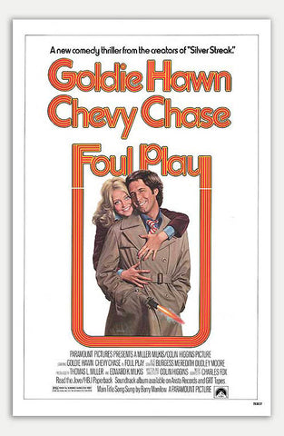 "Foul Play - 11"" x 17""  Movie Poster"