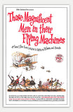 "Those Magnificent Men in Their Flying Machines - 11"" x 17""  Movie Poster"