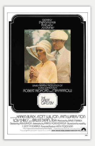 "Great Gatsby - 11"" x 17""  Movie Poster"