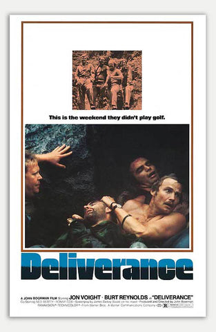 "Deliverance - 11"" x 17""  Movie Poster"