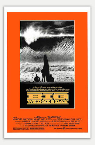 "Big Wednesday - 11"" x 17""  Movie Poster"