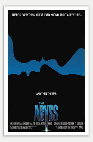 "Abyss - 11"" x 17""  Movie Poster"