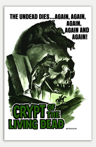 "Crypt of the living dead - 11"" x 17""  Movie Poster"