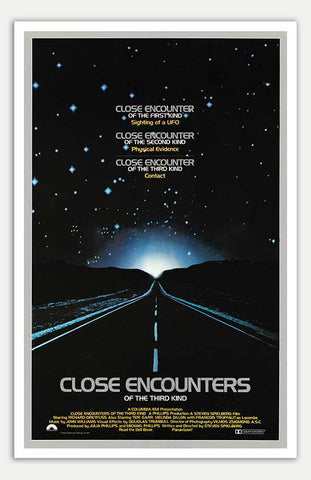 "Close Encounters of the Third Kind - 11"" x 17""  Movie Poster"