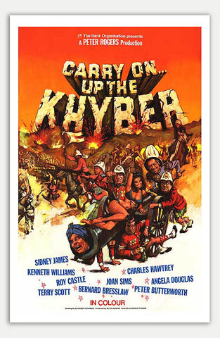 "Carry on up the khyber - 11"" x 17""  Movie Poster"
