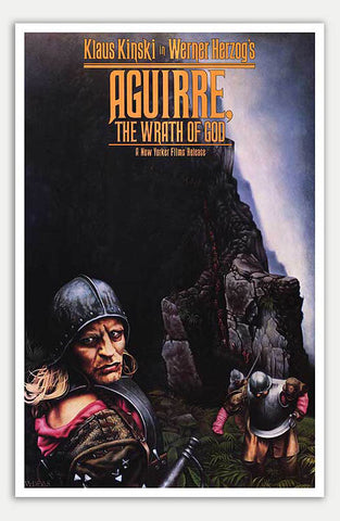 "Aguirre The Wrath of God - 11"" x 17""  Movie Poster"