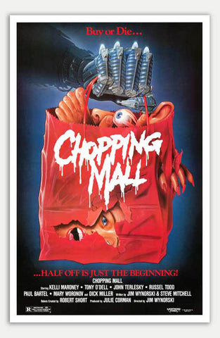 "Chopping Mall - 11"" x 17""  Movie Poster"