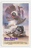 "Def-Con 4 - 11"" x 17""  Movie Poster"