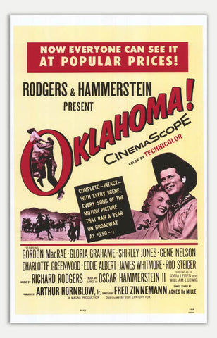 "Oklahoma! - 11"" x 17""  Movie Poster"