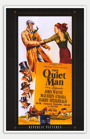 "Quiet Man - 11"" x 17""  Movie Poster"