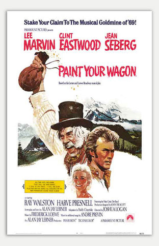 "Paint your Wagon - 11"" x 17""  Movie Poster"