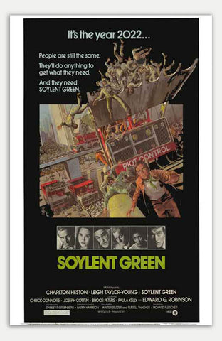 "Soylent Green - 11"" x 17""  Movie Poster"