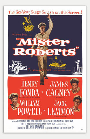 "Mister Roberts - 11"" x 17""  Movie Poster"