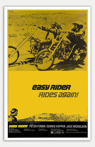 "Easy Rider - 11"" x 17""  Movie Poster"
