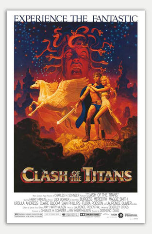 "Clash of the Titans - 11"" x 17""  Movie Poster"