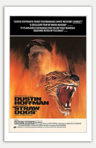 "Straw Dogs - 11"" x 17""  Movie Poster"