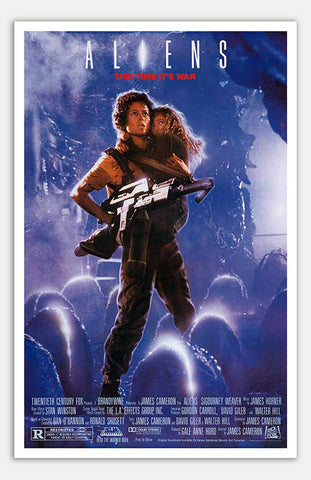 "Aliens - 11"" x 17""  Movie Poster"