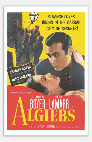 "Algiers - 11"" x 17""  Movie Poster"