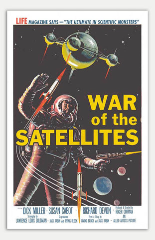 "War of the Satellites - 11"" x 17""  Movie Poster"