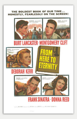 "From Here To Eternity - 11"" x 17""  Movie Poster"