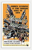 "Monolith Monsters - 11"" x 17""  Movie Poster"
