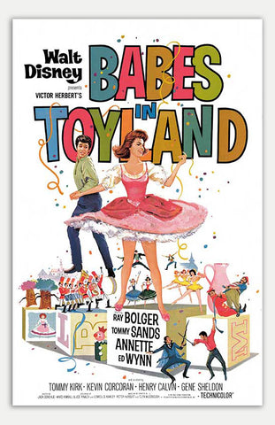 "Babes in Toyland - 11"" x 17""  Movie Poster"