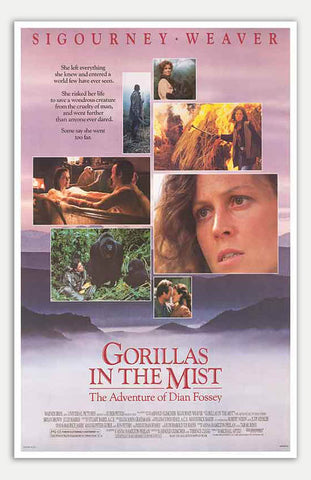 "Gorillas in the Mist - 11"" x 17""  Movie Poster"