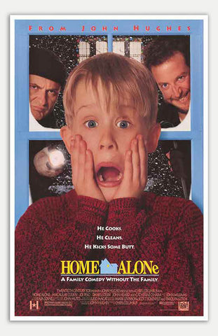 "Home Alone - 11"" x 17""  Movie Poster"