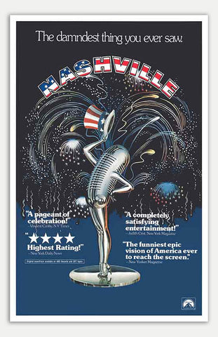 "Nashville - 11"" x 17""  Movie Poster"