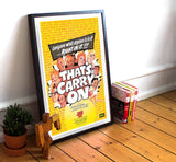 "That's Carry On - 11"" x 17""  Movie Poster"